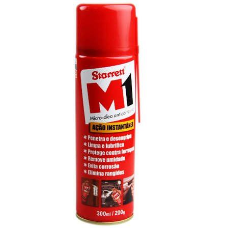 Óleo Anticorrosivo Spray 300ml M1 Starrett