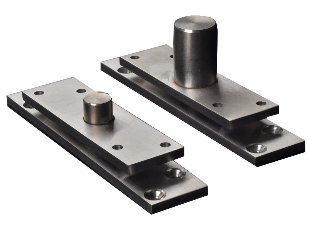 Pivot Inox Para Porta Geris 350kg-H160-Ie