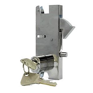 Fechadura Porta de Correr Cilindro Oval Franzmar