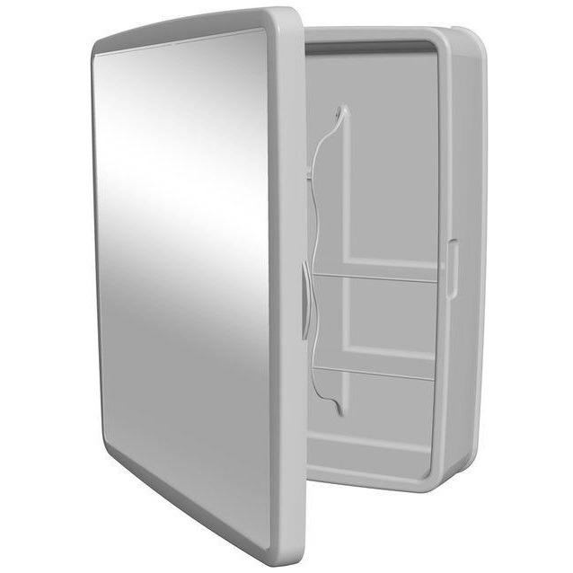 Armário Plástico Sintex Branco Reversível