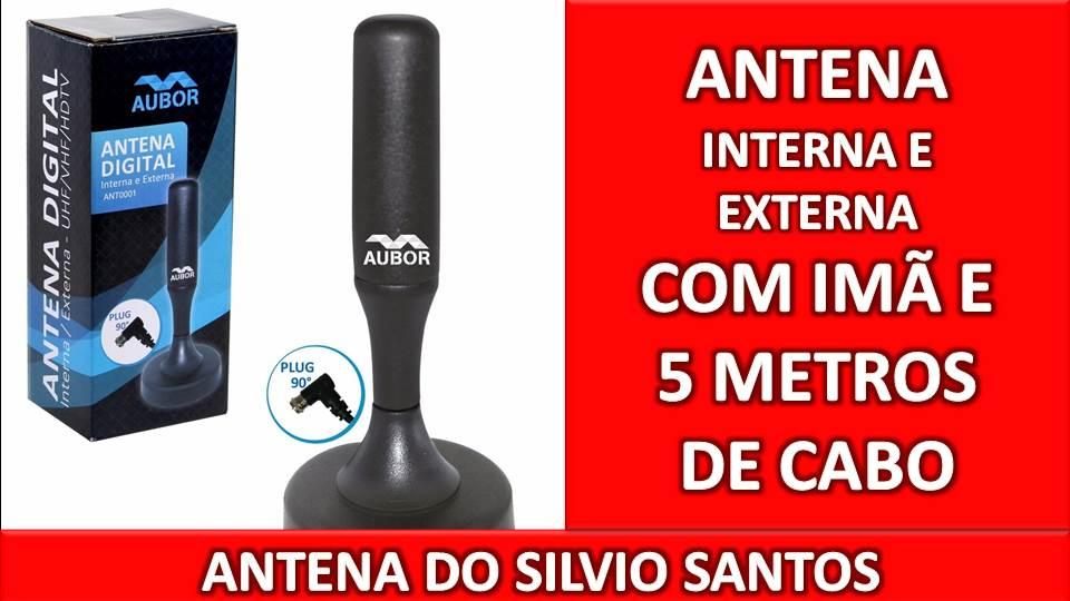 Antena Externa / Interna Aubor c/5 metros de Cabo