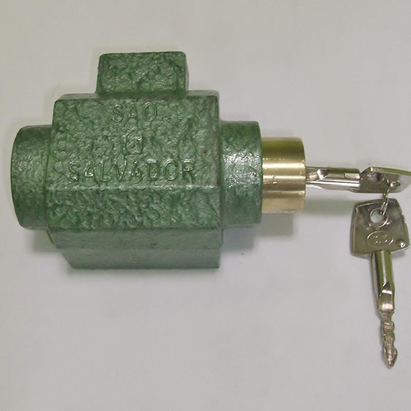 Cadeado Porta de Aço Tetra Automático 301 São Salvador