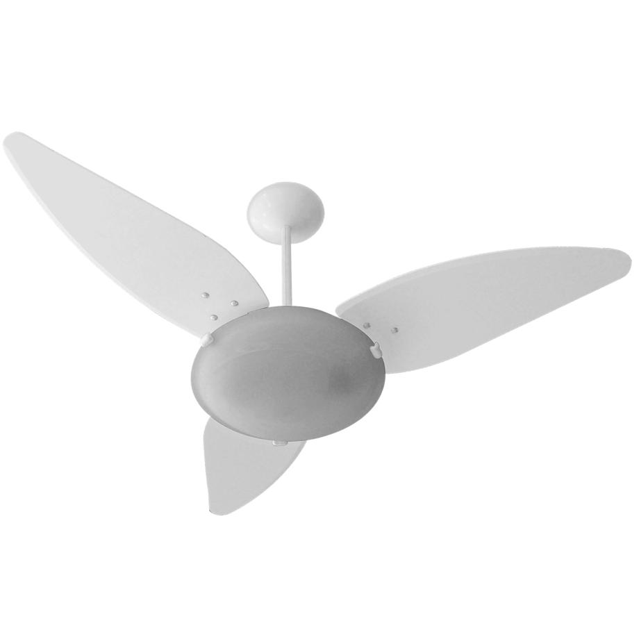 Ventilador de Teto Venti Delta Magnes Branco Com Plafon