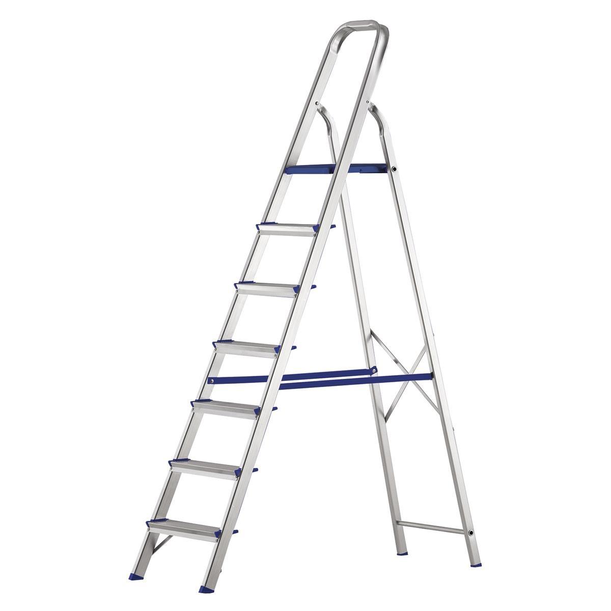 Escada Alumínio Prima 7 Degraus 120 kg