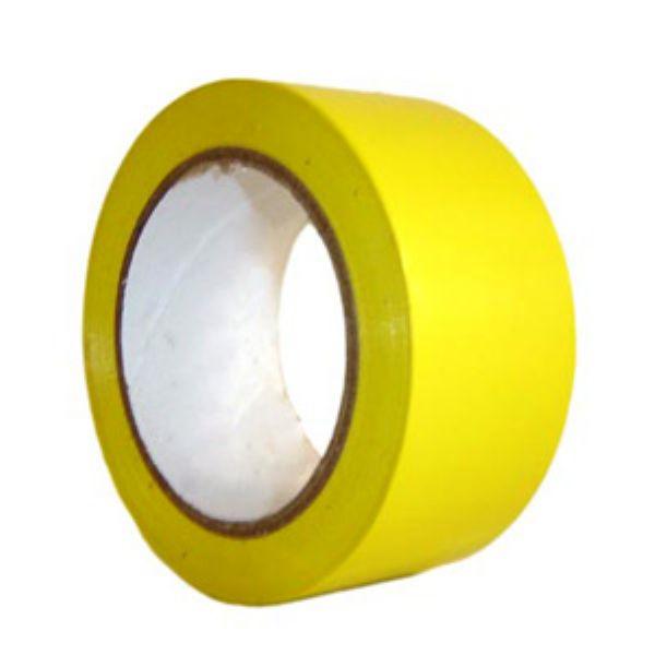 Fita Demarcação Amarela Rolo 30m x 48mm