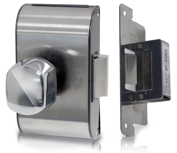 Fechadura Elétrica Bola Porta de vidro HDL