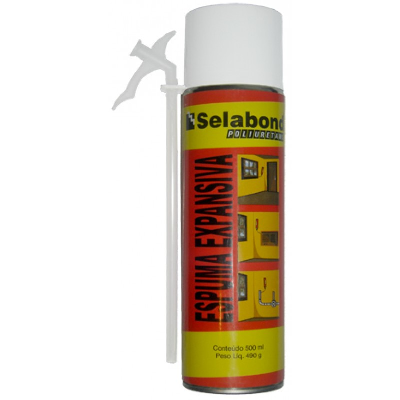 Espuma Poliuretano Spray 500 Ml