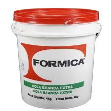 Cola Branca Formica Extra 4 Kg