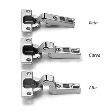 Dobradiça FGV Slide On Curva com calço – Cod. 4997
