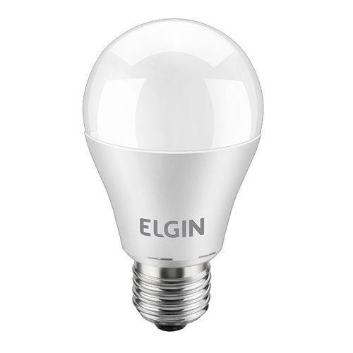 Lampada Led Bulbo 9 w Branca Elgin 6500K
