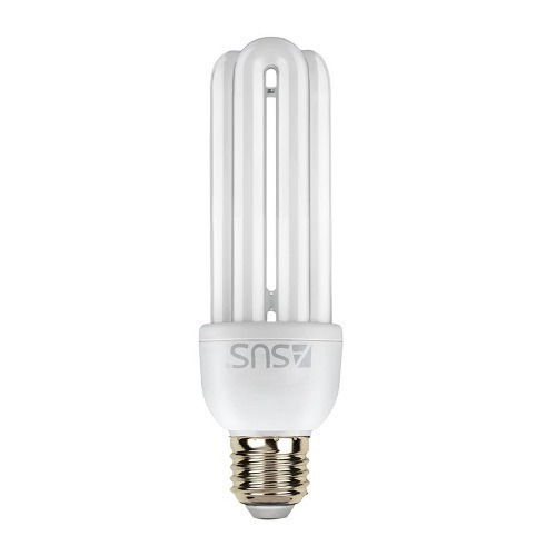 Lampada Fluorescente Eletrônica Asus 15W 3 U Branca – 127v – Cod. 25418