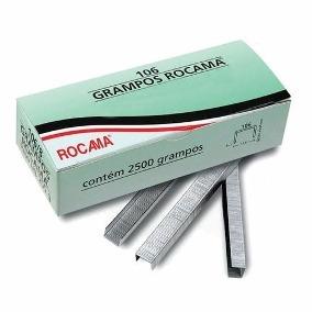 Grampo Rocama 106/6 ORIGINAL – Caixa c/3500 un. – Cod. 5131
