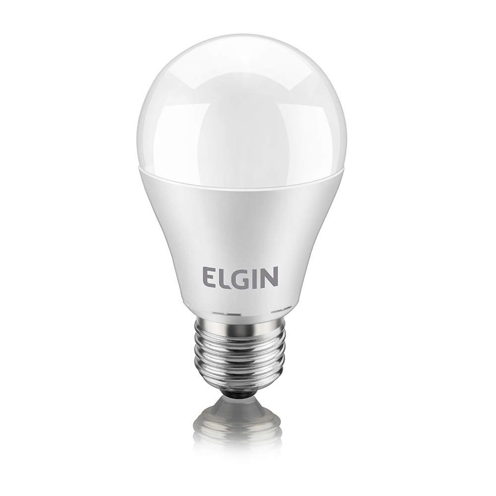 Lampada Led Bulbo 6w BRANCA ELGIN 6500K