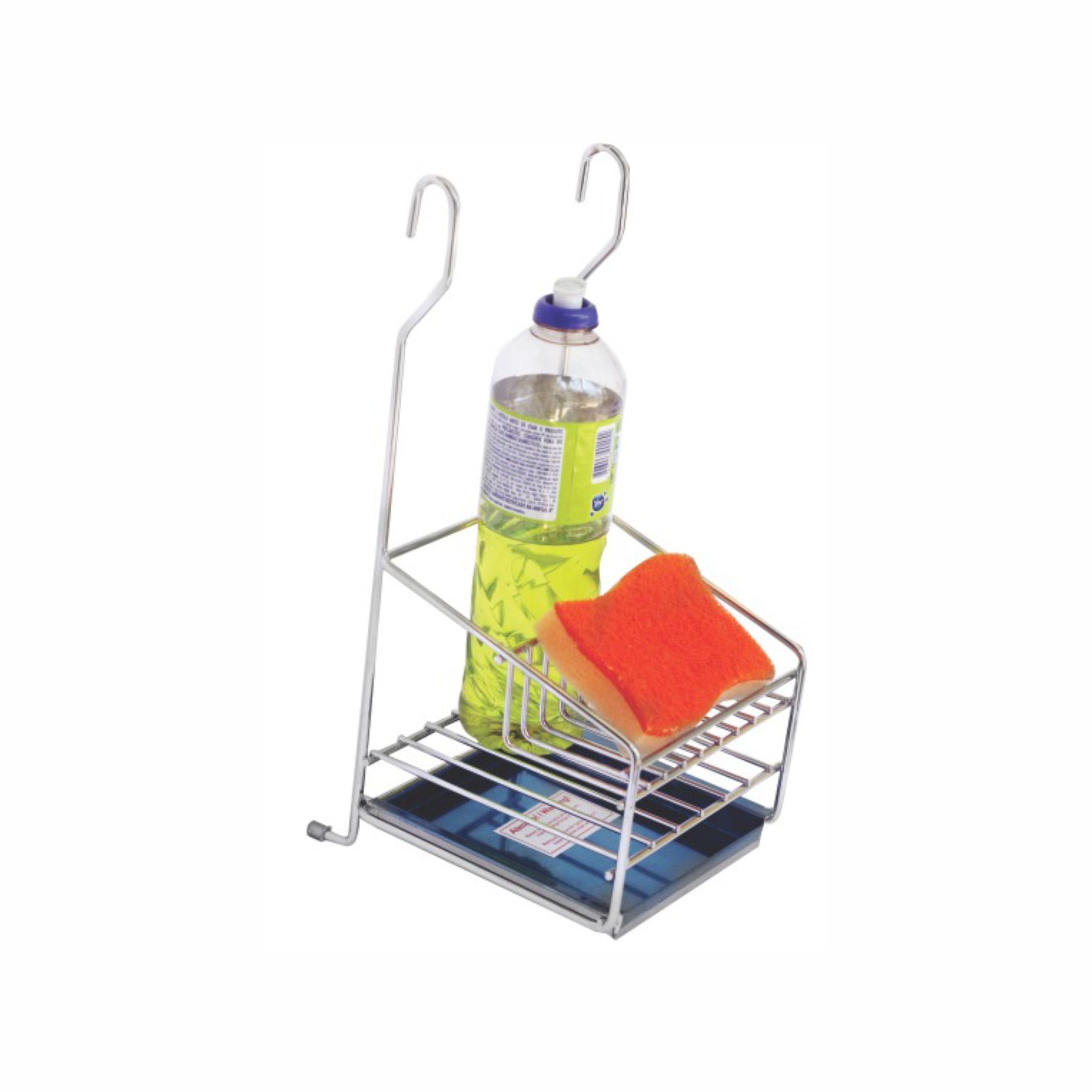 Porta Detergente + Sabão + Esponja Bredal ref. 5010 – Cod: 25858