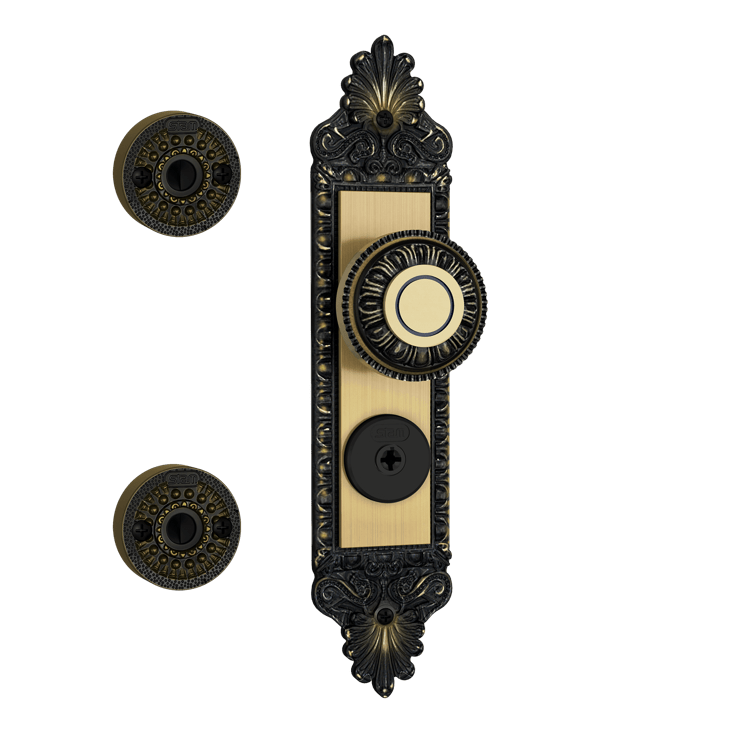 Fechadura Stam Colonial Kit 3×1 1803/04 – COD: 18702