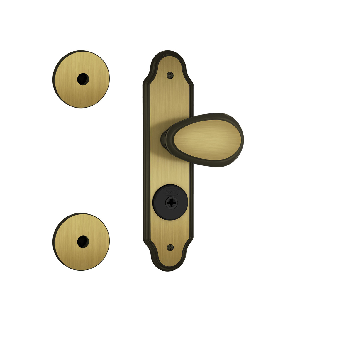 FECHADURA STAM TACO GOLF KIT 3X1 – 1083/10 – COD: 18703