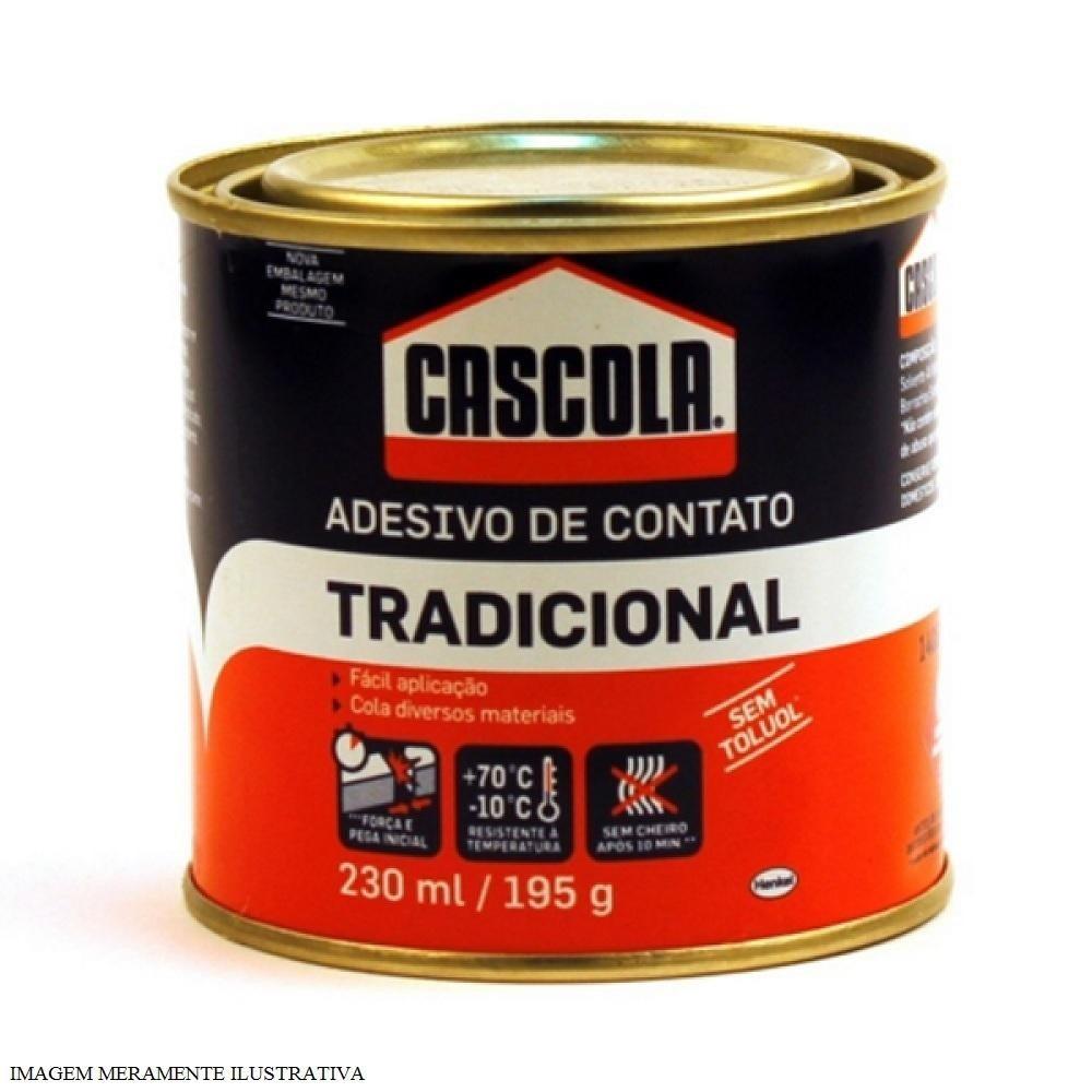 Cola Contato Cascola Tradicional 200g – Cod: 4669