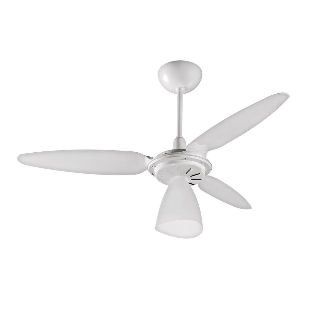 Ventilador de Teto Ventisol Wind Light Branco 127V -Cod: 17717